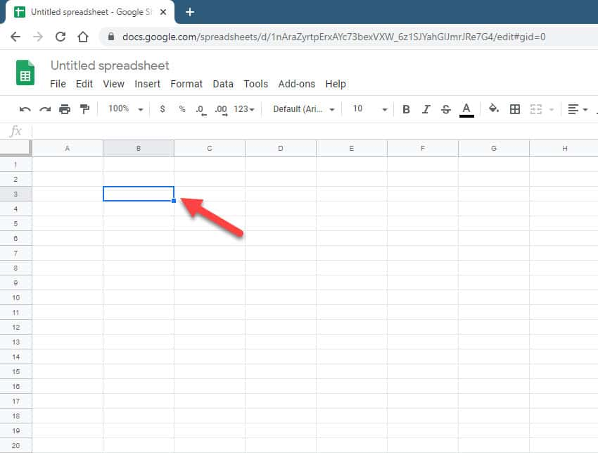 create a dropdown list