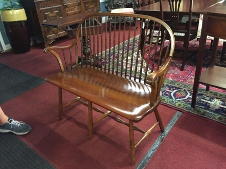 Stickley Cherry Windsor Style Bench