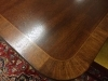 Baker banded dining table