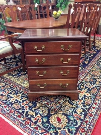 Vintage Four Drawer Cherry Chest