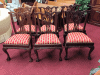 Mahogany Chippendale Chairs