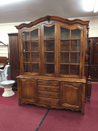 Ethan Allen French Style China Cabinet