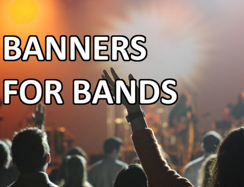 Band Banners – Backdrops and Stage Scrims