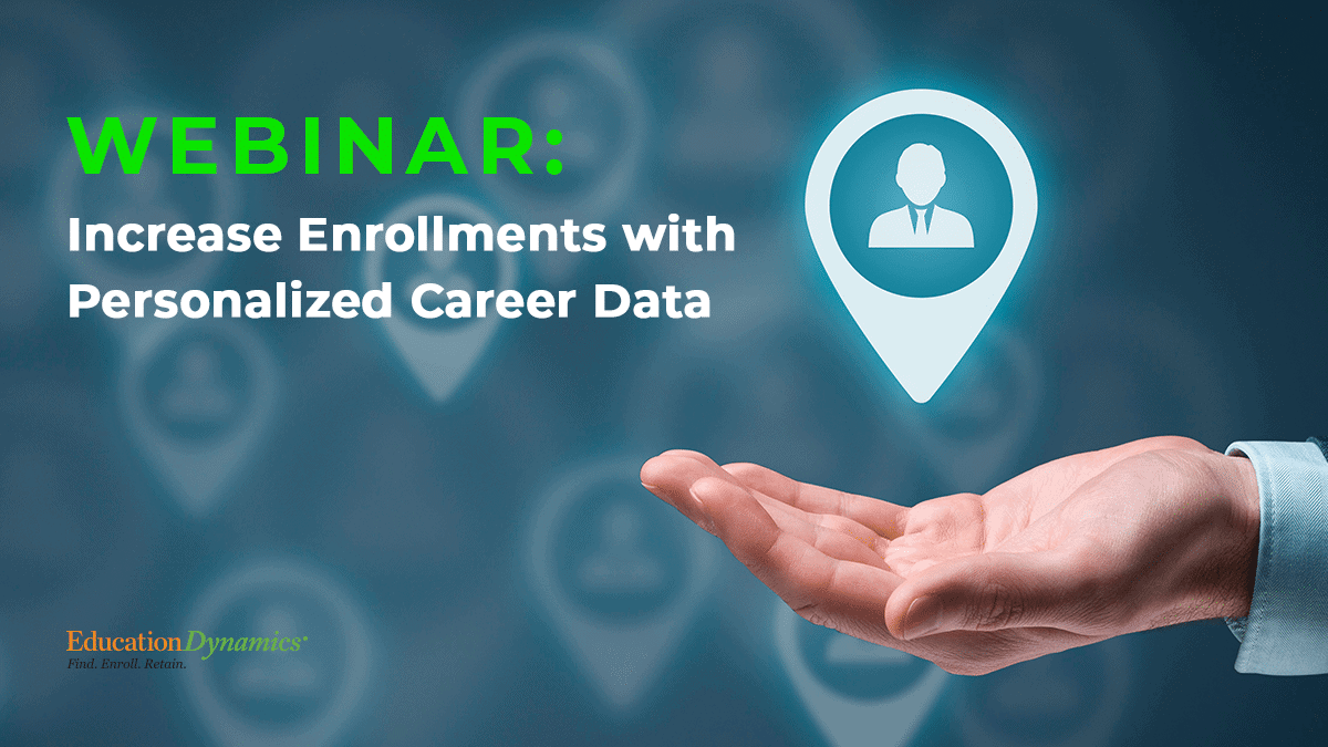Increase Enrollments with Personalized Career Data