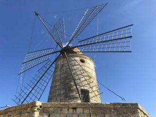 Mulino a vento Salina Maria Stella