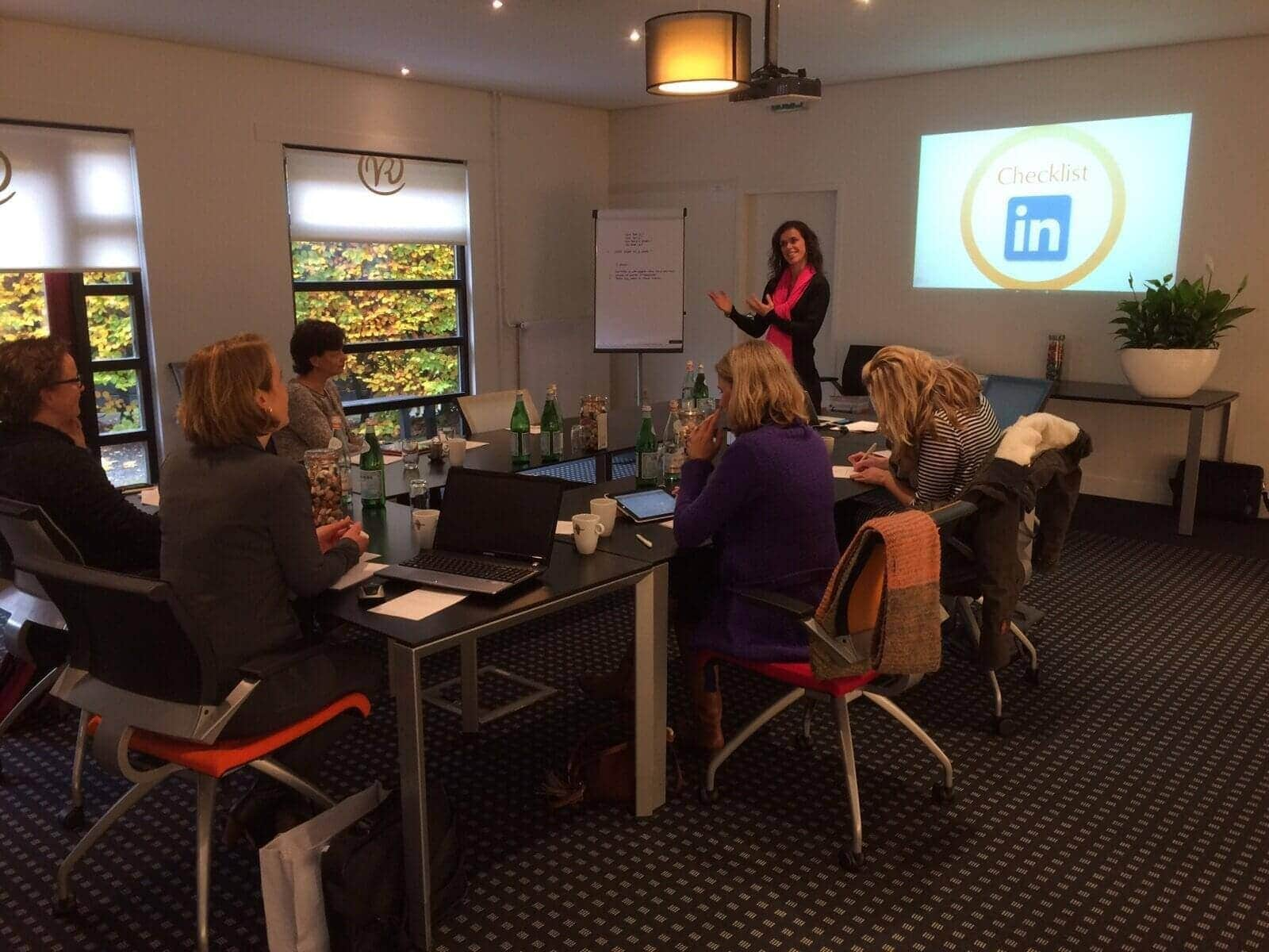 trainingen en workshops bij Elqui