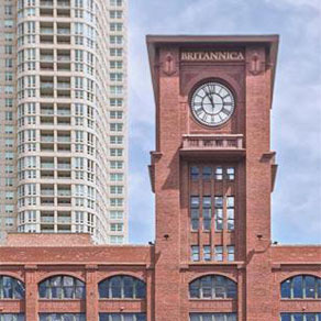 Screenshot of website for Friedman Properties