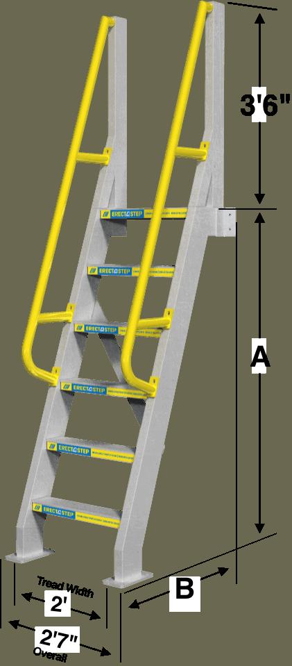 Ships Ladder Specs