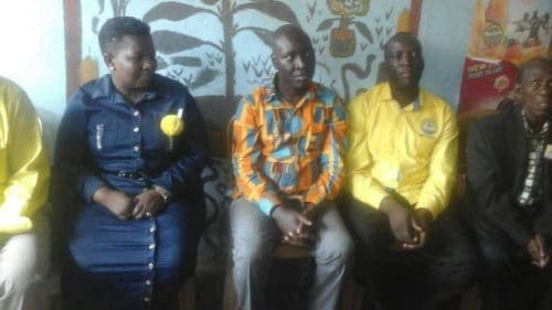 Bugiri  NRM Candidate Pins Secretariat Bosses ,on  His Loss