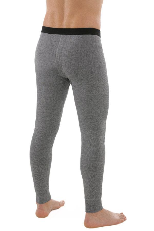 Lange Unterhosen Herren (Dunkelgrau-Melange)