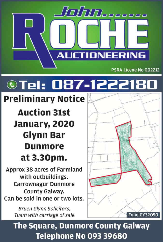 land for sale co. galway