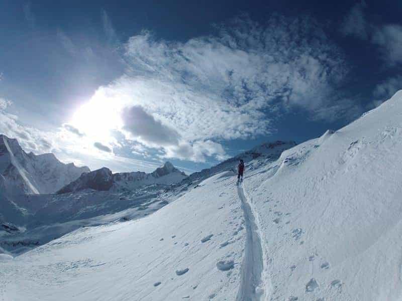 Geführte Skitour zum Tristkogel