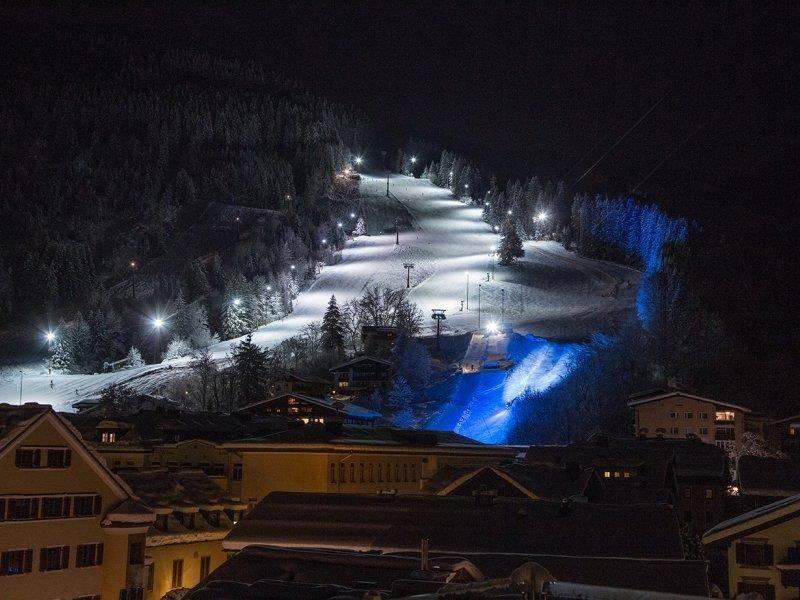 Schmitten Nightslope - Skifahren bei Nacht
