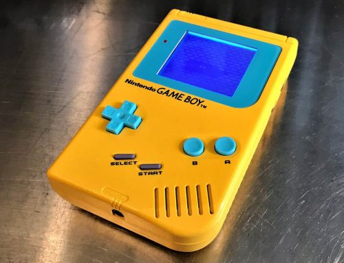 Game Boy DMG-01 modding step by step guide