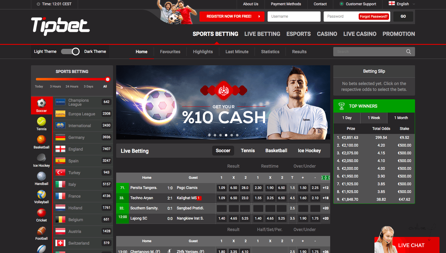 Tipbet bookmaker review