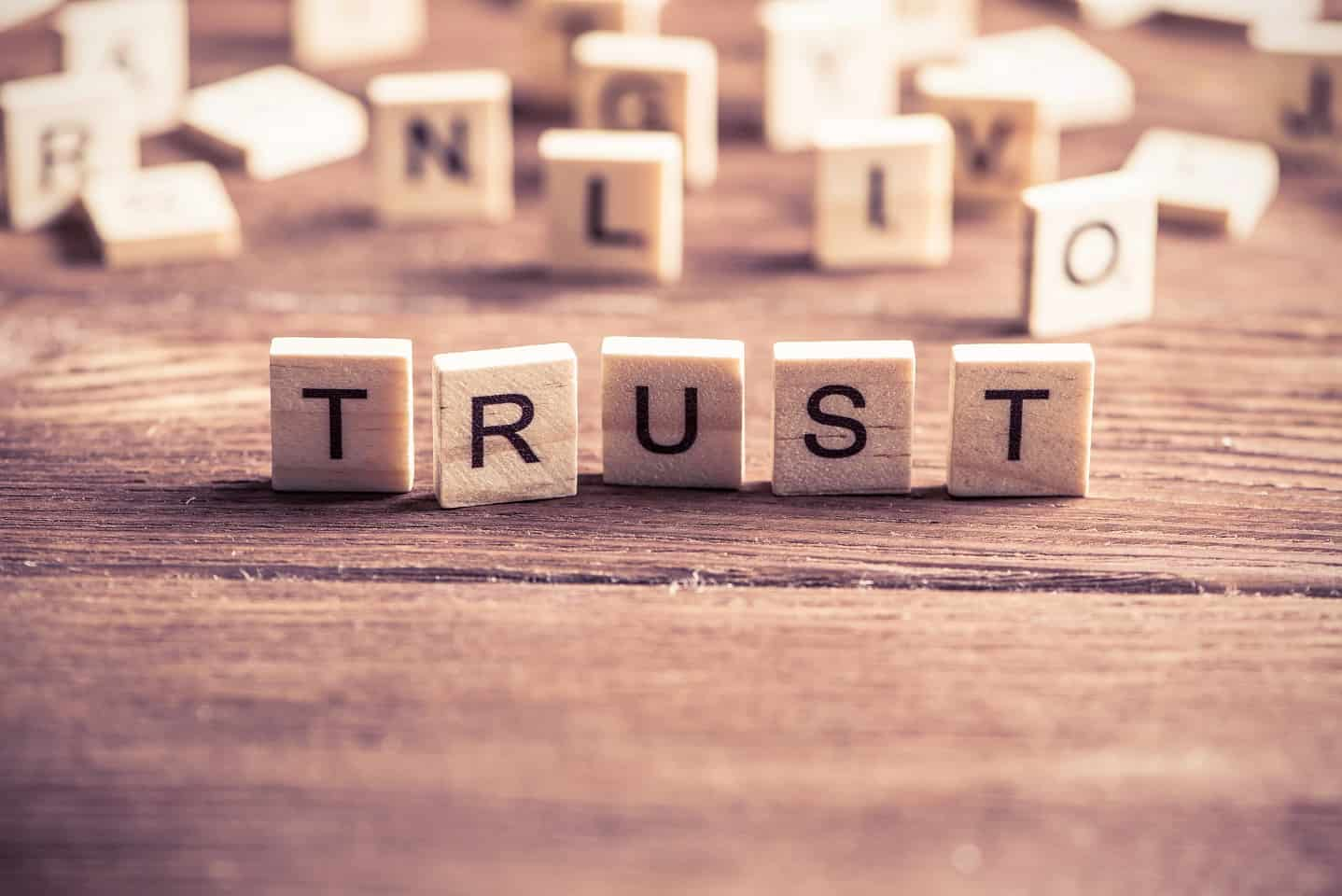 I TRUST YOU-What does it mean?