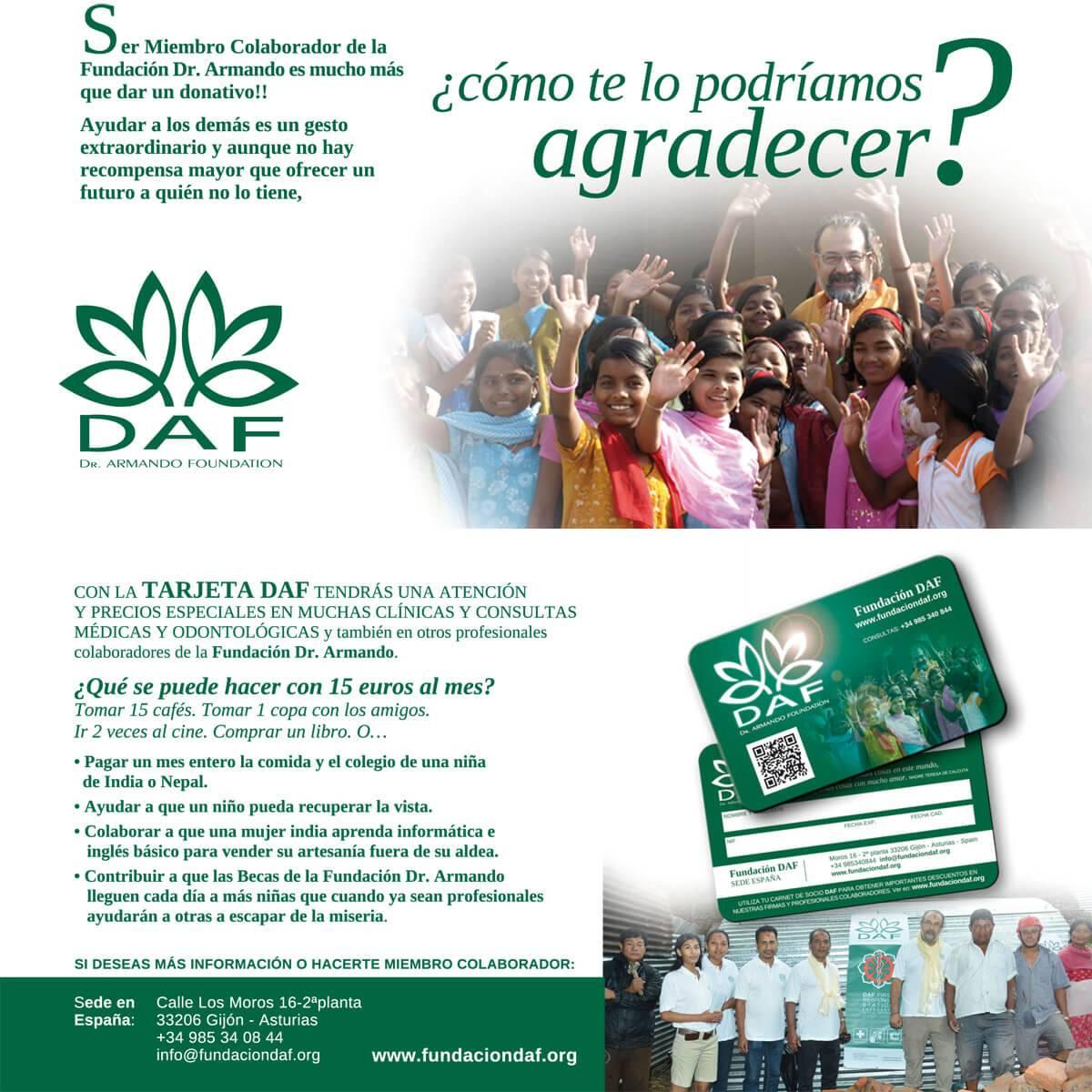 Information card partner DAF