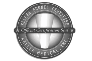 Keller Funnel Certification Seal - Dr Della Bennett MD - Gray