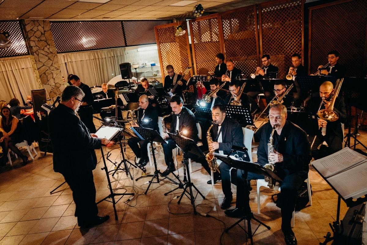 historical Augustan musical formation: Hot Jazz Orchestra - Giuseppe Torretta