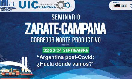Seminario Zárate – Campana 2020 Argentina post-Covid: ¿Hacia dónde vamos? Ciclo de Webinars 22, 23 y 24 de setiembre 2020