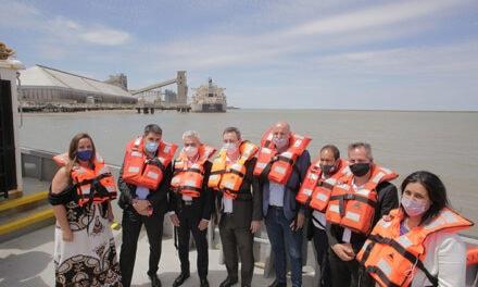 Puerto Buenos Aires firmó convenio de capacitación para Puerto Bahía Blanca