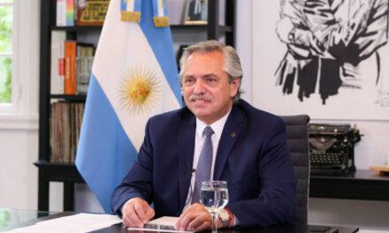 """Alberto Fernández sobre la licitación por la Hidrovía: """"No pensamos en prorrogar la concesión"""""""