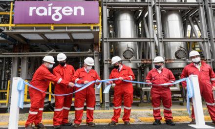 Raízen inauguró planta en Dock Sud con una inversión de u$s8 millones