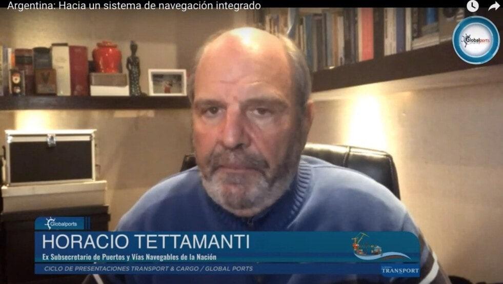 """Tettamanti:  """"Argentina tiene uno de los sistemas fluviales y marítimos más importantes del mundo"""""""