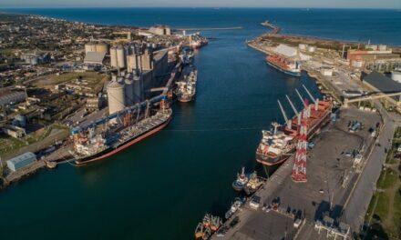 Puerto Quequén realiza 17 embarques en una semana