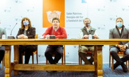 Avanzan las obras de ampliación del puerto de Ushuaia