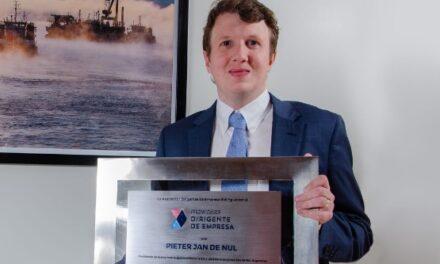 Premio Dirigente de Empresa 2021 es otorgado a Pieter Jan De Nul