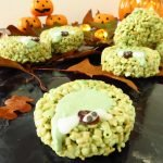 Easy Halloween Rice Crispy Treats – Oozing Gruffalo Warts