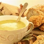 Roast Chicken Soup – gluten free roast dinner leftovers