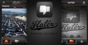 """Hater"" App สำหรับแบ่งปันความไม่ถูกใจ"