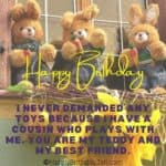 Birthday Wishes for Cousin, Happy Birthday Cousin Sister/Brother