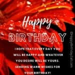 Birthday Wishes for Lovers, Romantic Birthday Greetings