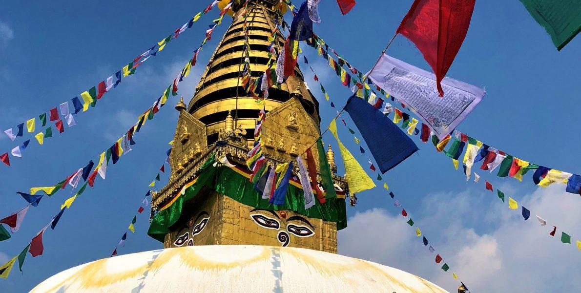 Swoyambhunath in Kathmandu
