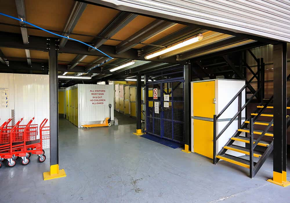 self storage in north london