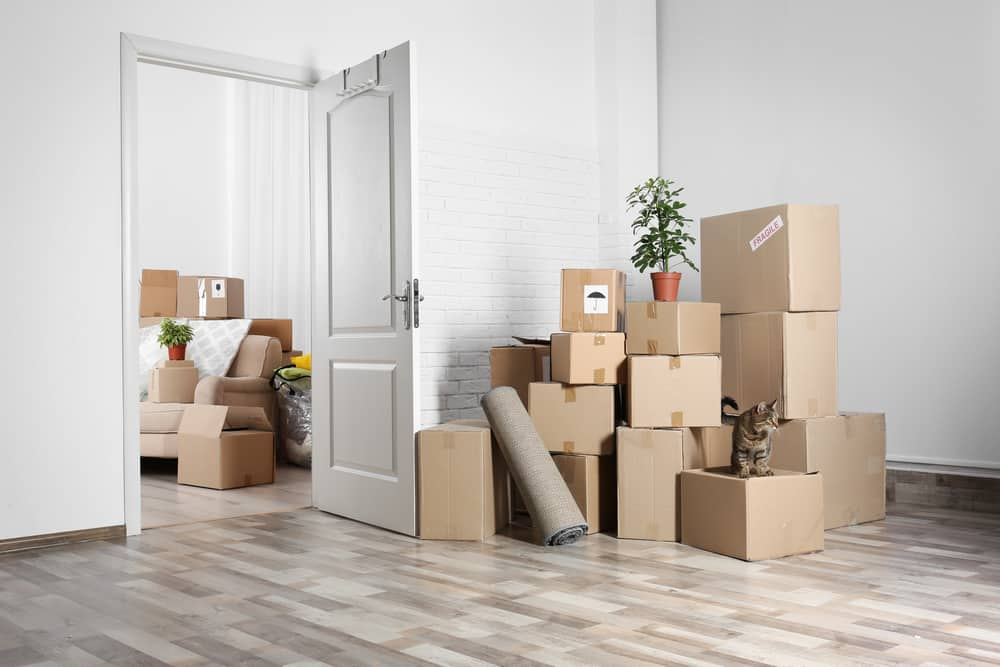 Using Self storage units when moving house