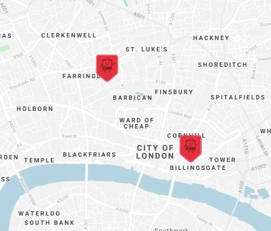 greater london self storage location
