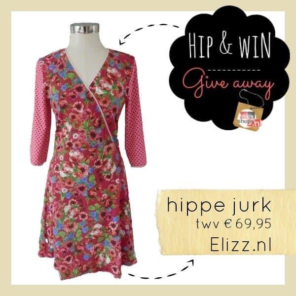 Winnen! Fleurige hippe jurk twv €69,95 van Elizz.nl