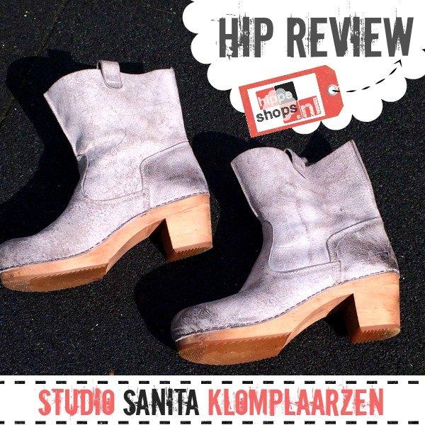Sanita Klomplaars in waxed suède stone | Hip Review