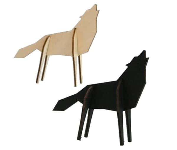 Atelier Pierre Nordic Puzzel Wolf Small | Goodiebox Deluxe 2016
