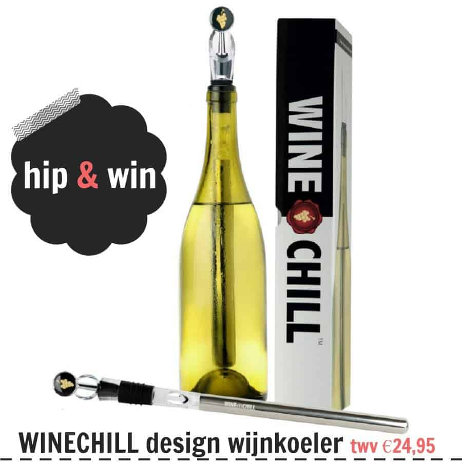 WINECHILL – Stijlvol wijn koelen en schenken tijdens de feestdagen