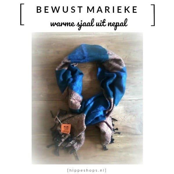 Lekkere warme sjaals uit Nepal