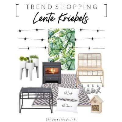 Trend Shopping: lentekriebels Top 10 buiten musthaves voor tuin en terras