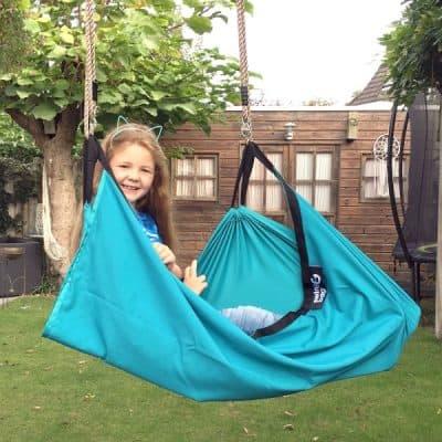 SwingBag schommelzak – schommelen, relaxen, spelen! (t.w.v. €39,95)