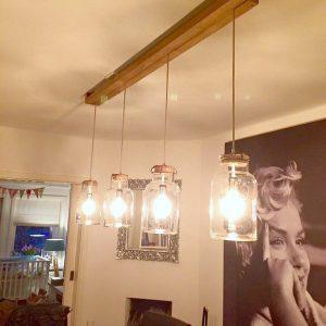 Lichtbeurs – hippe lampen gemaakt van oud laboratorium glaswerk