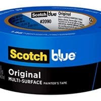 Scotch Painter's Tape 2090-48E 07230001245 ScotchBlue Painter's Tape, Multi-Use, 1.88-Inch by 60-Yard, 1 Roll, 1.88 inch x 60 yards, Blue