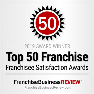Top 50 ranking by Franchise Business Review